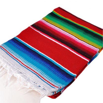 メキシカンサラペブランケット[RED]