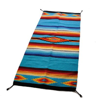 SALTILLO HAWKEYE RUGS/ラグマット[TURQUOISE]