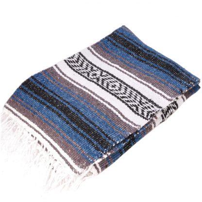 エコノミーメキシカンブランケット[STEEL.BLUE]