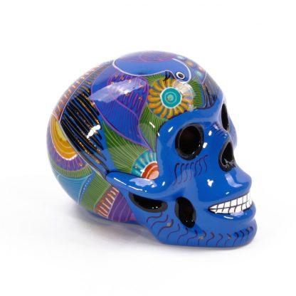 カラベラ/メキシカンスカル[Large/6inc]BLUE