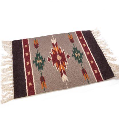 Wool Maya Modern 20X15/ウールラグ素材プレースマット[06.BEIGE]