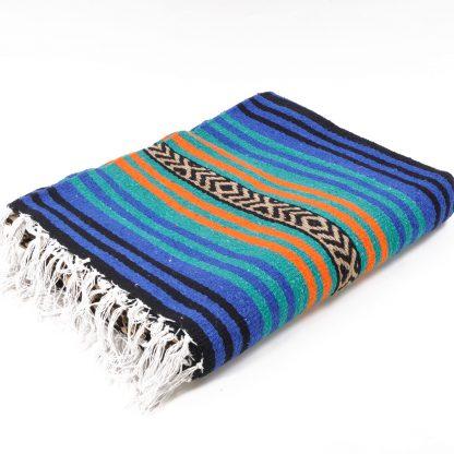 Peyote Blanket/ペヨーテブランケット[BLUE/ORANGE]