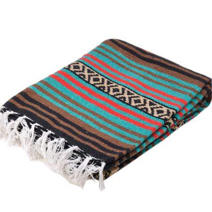 Peyote Blanket/ペヨーテブランケット[BROWN/TEAL]