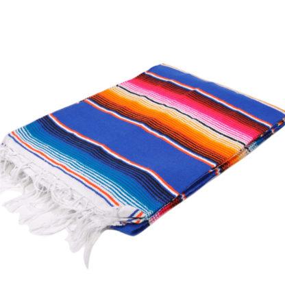 メキシカンサラペブランケット[ROYAL.BLUE]