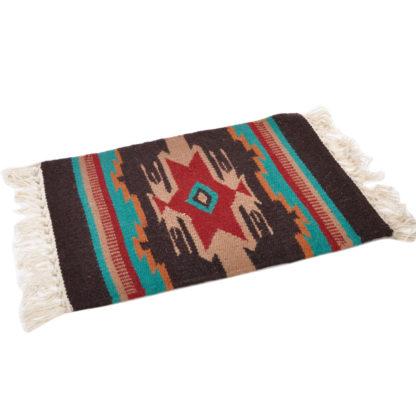 Wool Maya Modern 20X15/ウールラグ素材プレースマット[15.BROWN]
